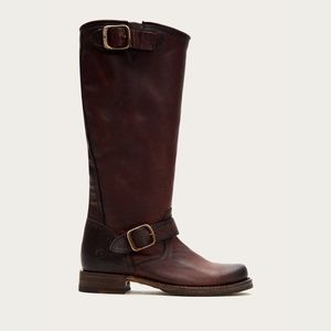 Frye Veronica Slouch Boot in Redwood